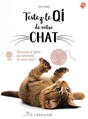 Testez le QI de votre chat - larousse - 9782035939760 -