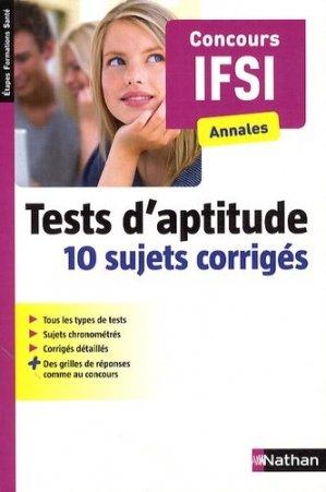 Tests d'aptitude - nathan - 9782091636467 -
