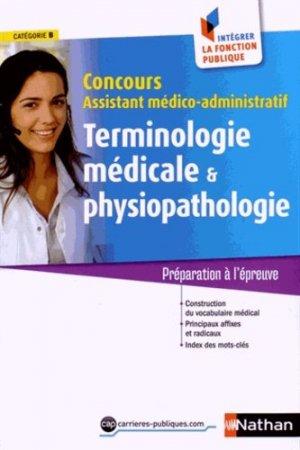 Terminologie médicale et physiopathologie - nathan - 9782091637006 -