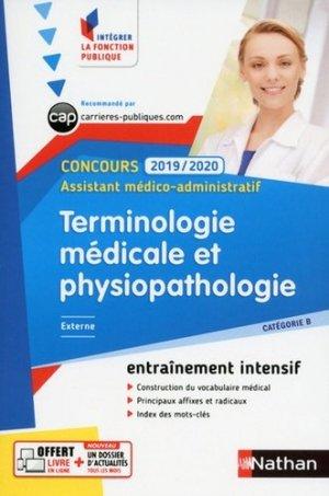 Terminologie médicale et physiopathologie - nathan - 9782091652603 -