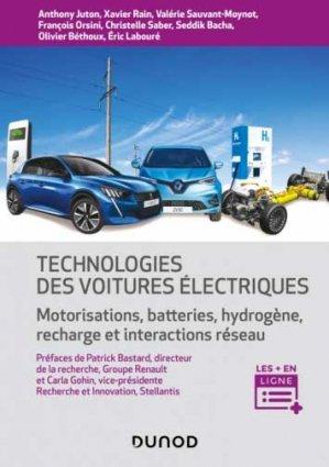 Technologie des voitures électriques - Dunod - 9782100818068 -