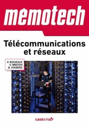 Télécommunications et réseaux - casteilla - 9782206100012 -