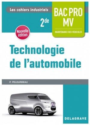 Technologie de l'automobile 2de Bac Pro Maintenance des véhicules - casteilla - 9782206102689 -