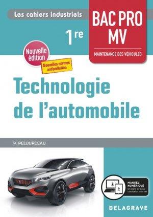 Technologie de l'automobile - delagrave - 9782206104577 -