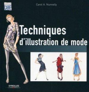 Techniques d'illustration de mode - Eyrolles - 9782212124880 -