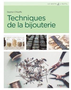 Technique de la bijouterie - eyrolles - 9782212140156 -