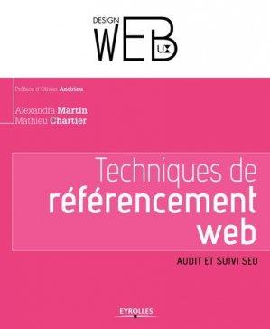 Techniques de référencement web - eyrolles - 9782212140408 -