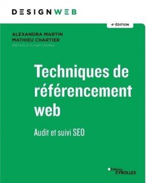 Techniques de référencement web - Eyrolles - 9782212679861 -