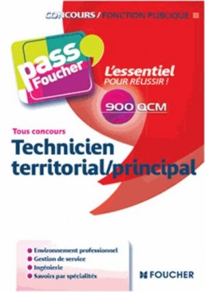 Technicien territorial/principal - Foucher - 9782216124886 -