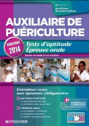 Tests d'aptitude - Épreuve orale 2014 - foucher - 9782216124893 -
