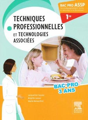 Techniques professionnelles et technologies associées - elsevier / masson - 9782294726651 -