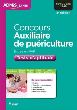 Tests d'aptitude - Entrée IFAP - vuibert - 9782311200287 -