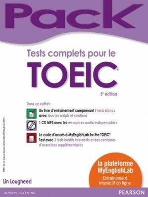 Tests complets pour le TOEIC - pearson - 9782326001107 -