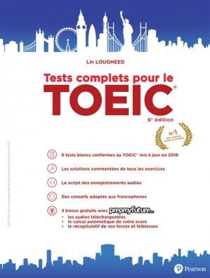 Tests complets pour le TOEIC - pearson - 9782326002012 -