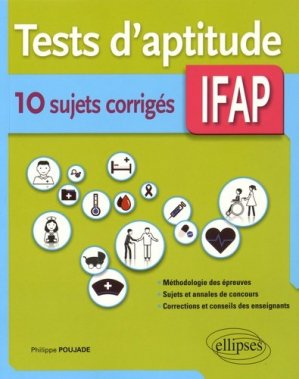 Tests d'aptitudes IFAP - ellipses - 9782340006904 -