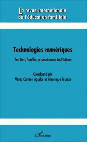 Technologies numériques - l'harmattan - 9782343049700 -