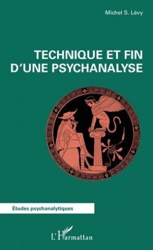 Technique et fin dune psychanalyse - l'harmattan - 9782343141336 -
