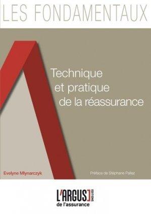 Technique et pratique de la réassurance - Groupe Industrie Services Info - 9782354741501 -