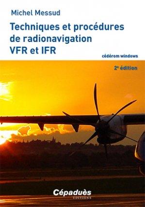 Techniques et procédures de radionavigation VFR et IFR - cepadues - 9782364930735 -