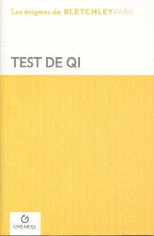 Test qi - gremese - 9782366771695 -
