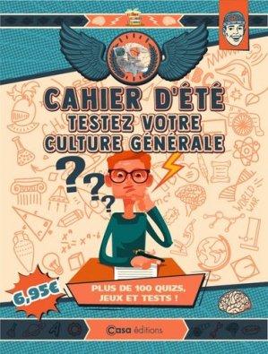 Testez votre culture générale - casa  - 9782380581652 -