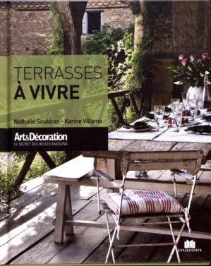 Terrasses à vivre - Massin - 9782707211521