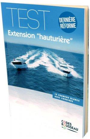 Test extension hauturière - Codes Rousseau, SA - 9782709515436 -