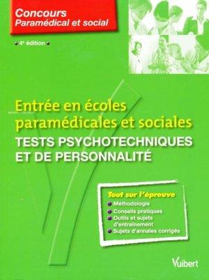 Tests psychotechniques et de personnalité - vuibert - 9782711738809 -
