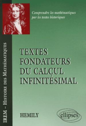 Textes fondateurs du calcul infinitésimal - ellipses - 9782729830892 -