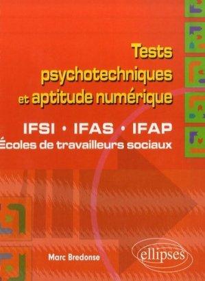 Tests psychotechniques et aptitude numérique - ellipses - 9782729834142 -