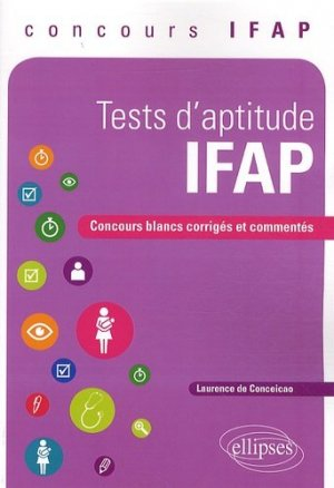Tests d'aptitude IFAP - ellipses - 9782729883317 -