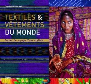 Textiles et vêtements du monde - de la martiniere - 9782732444260 -