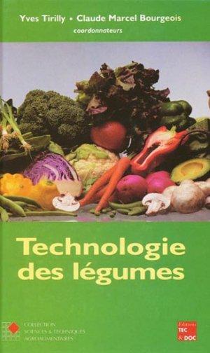 Technologie des légumes - lavoisier / tec et doc - 9782743002992 -
