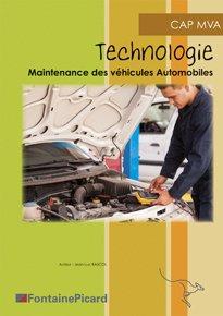 Technologie CAP MVA - fontaine picard - 9782744630286 -