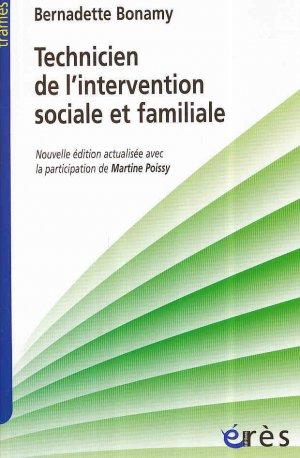 Technicien de l'intervention sociale et familiale - eres - 9782749252001 -