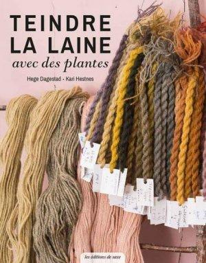 Teindre la laine avec des plantes - de saxe  - 9782756534787 -