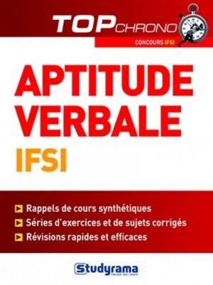 Tests d'aptitude verbale IFSI - studyrama - 9782759015160 - Pilli ecn, pilly 2020, pilly 2021, pilly feuilleter, pilliconsulter, pilly 27ème édition, pilly 28ème édition, livre ecn
