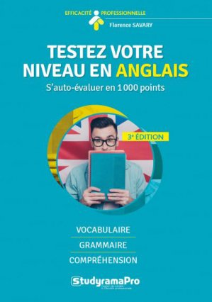 Testez votre niveau en anglais - Studyrama - 9782759040803 -
