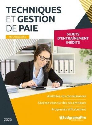 Techniques et gestion de paie - StudyramaPro - 9782759044443 -