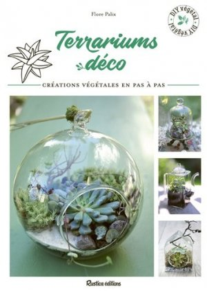 Terrariums déco - rustica - 9782815313742