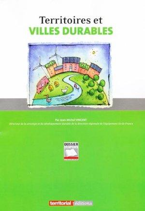 Territoires et villes durables - territorial - 9782818600245 -