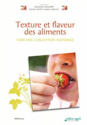 Texture et flaveur des aliments - educagri - 9782844448798 -