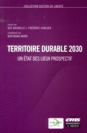 Territoire durable 2030 - ems - 9782847695502 -