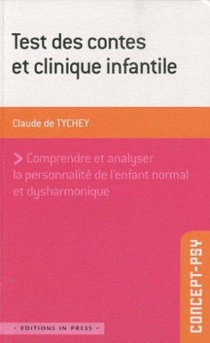 Test des contes et clinique infantile - in press - 9782848351964 -