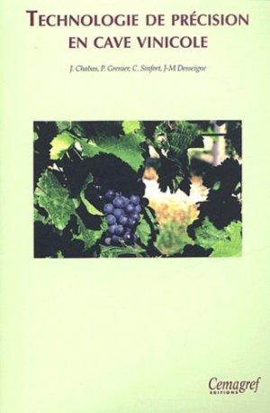 Technologie de précision en cave vinicole - cemagref - 9782853625913 -