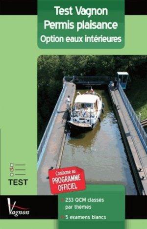 Test vagnon  Permis plaisance - vagnon - 9782857257905 -