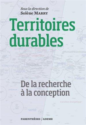 Territoires durables - De la recherche à la conception - parentheses - 9782863643433 -