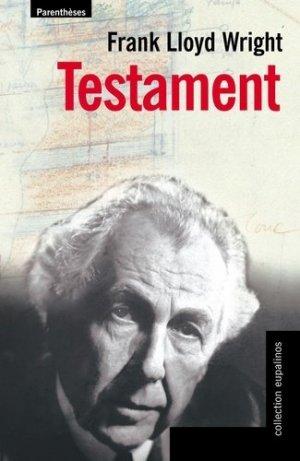 Testament - parentheses - 9782863646298 -