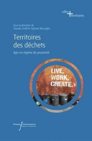 Territoires des déchets - presses universitaires francois rabelais - 9782869067240 -