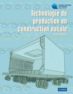 Technologie de production en construction navale - ccdmd (canada) - 9782894701683 -